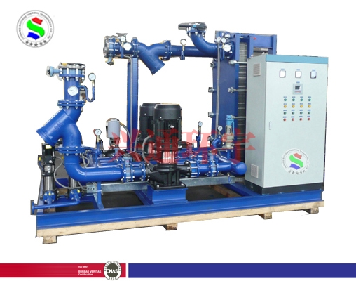 全自动无人置守换热机组 供热机组 水空调机组